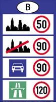 Belgium sebesség határok